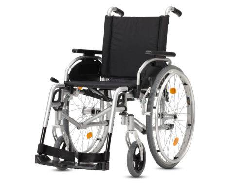 large wheel aluminum chair